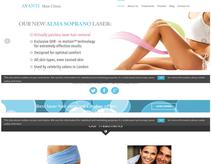 Avantiskinclinic.co.uk