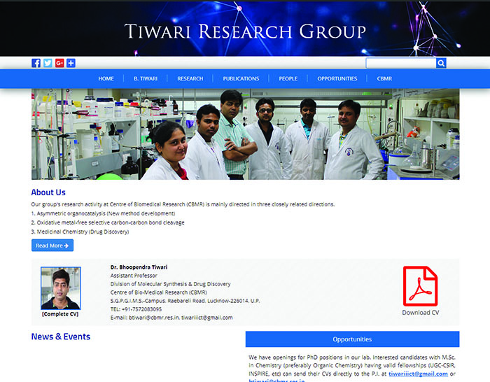 Tiwari Research Group